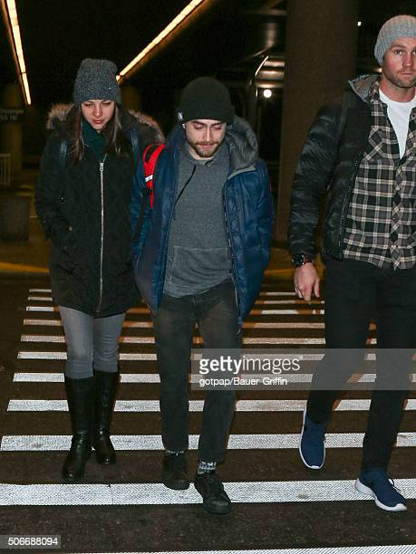Daniel Radcliffe and Erin Darke are seen on January 24 2016 in Park City Utah