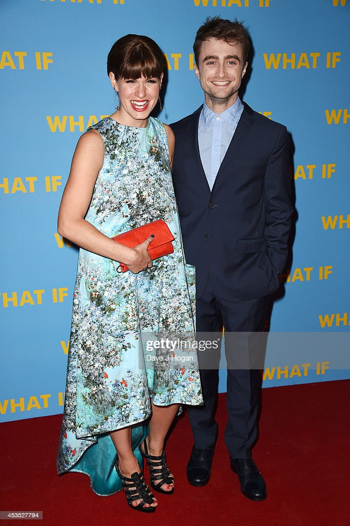 Daniel Radcliffe and Jemima Rooper attend the UK premiere of 'What If' at The Odeon West End on August 12 2014 in London England