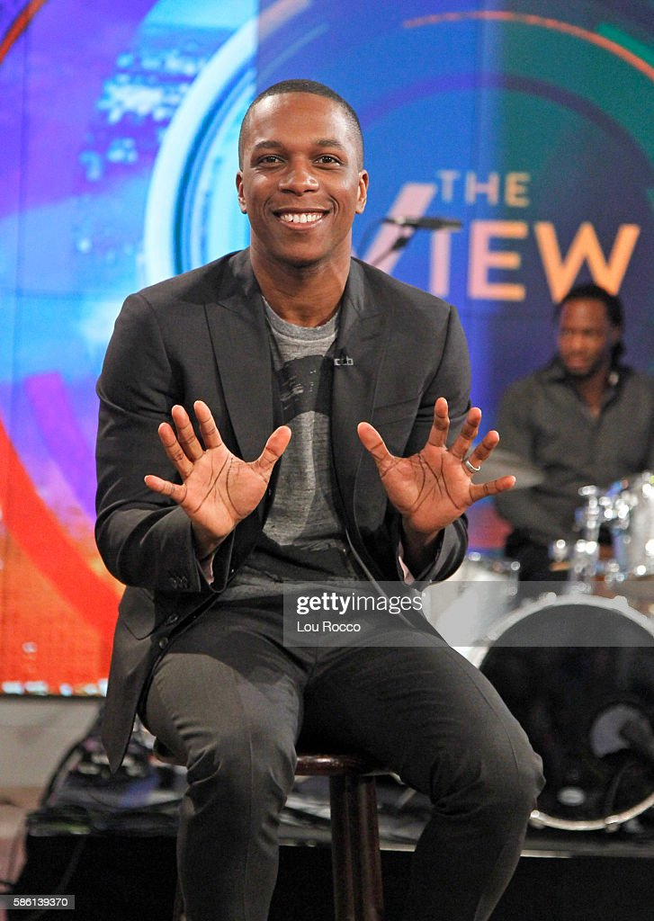 THE VIEW - Daniel Radcliffe and Leslie Odom Jr. are the guests on 'The View' airing Wednesday, August 10, 2016 (11:00 a.m. - 12:00 noon, ET) on the ABC Television Network.