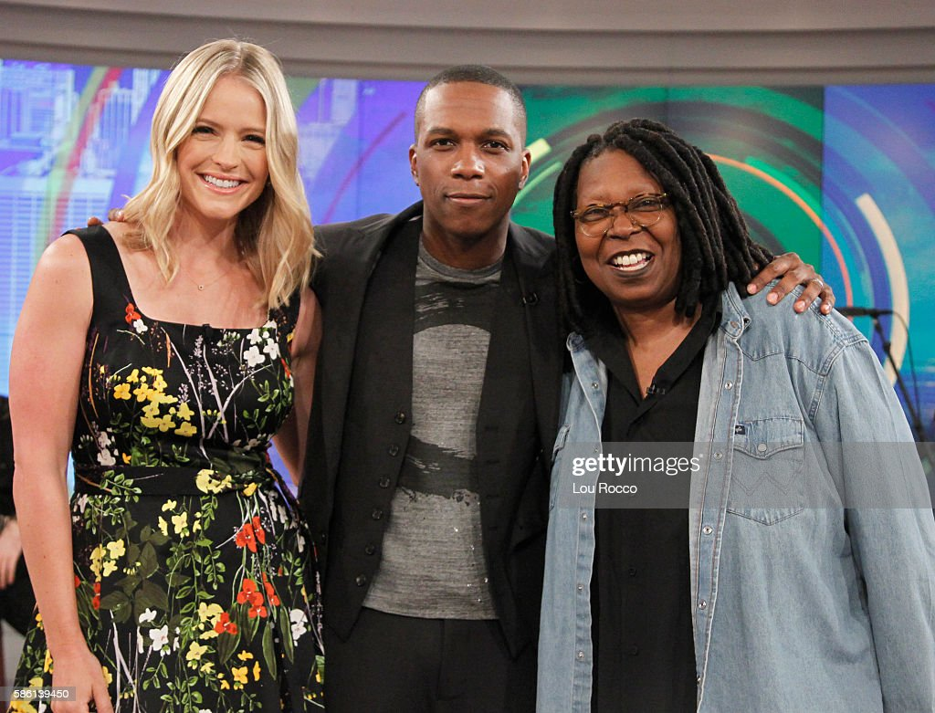 THE VIEW - Daniel Radcliffe and Leslie Odom Jr. are the guests on 'The View' airing Wednesday, August 10, 2016 (11:00 a.m. - 12:00 noon, ET) on the ABC Television Network. GOLDBERG