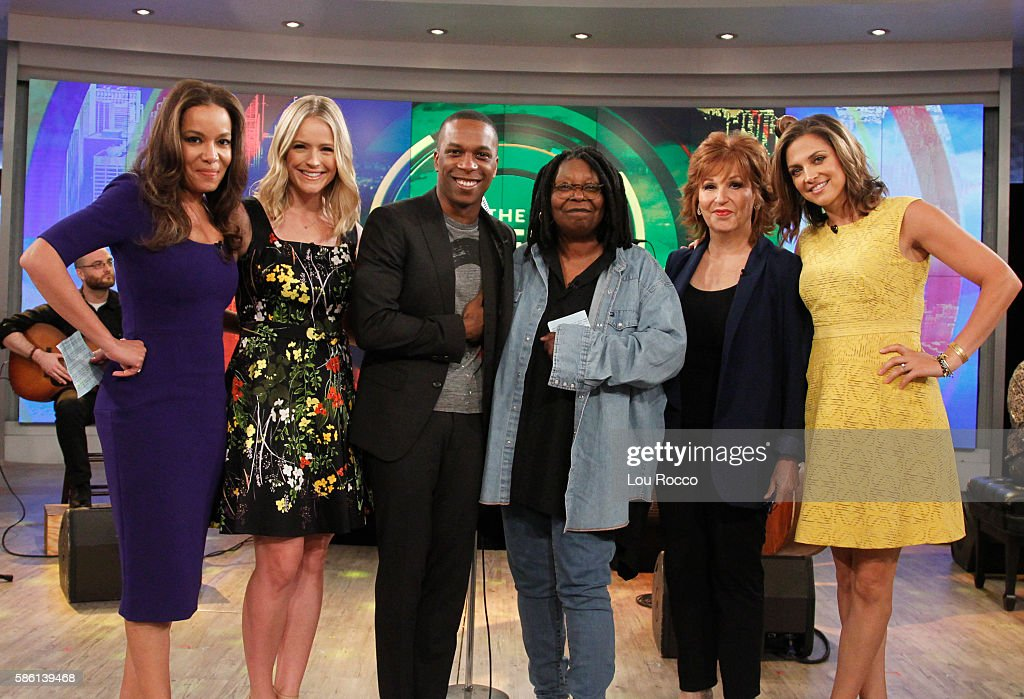 THE VIEW - Daniel Radcliffe and Leslie Odom Jr. are the guests on 'The View' airing Wednesday, August 10, 2016 (11:00 a.m. - 12:00 noon, ET) on the ABC Television Network. FARIS