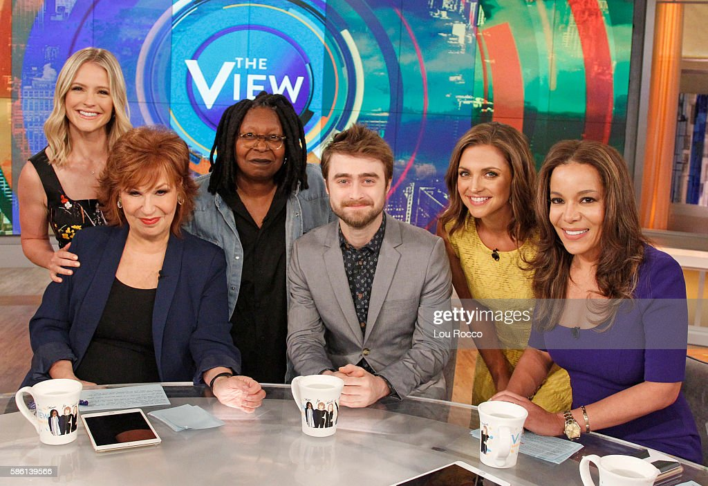 THE VIEW - Daniel Radcliffe and Leslie Odom Jr. are the guests on 'The View' airing Wednesday, August 10, 2016 (11:00 a.m. - 12:00 noon, ET) on the ABC Television Network. HOSTIN