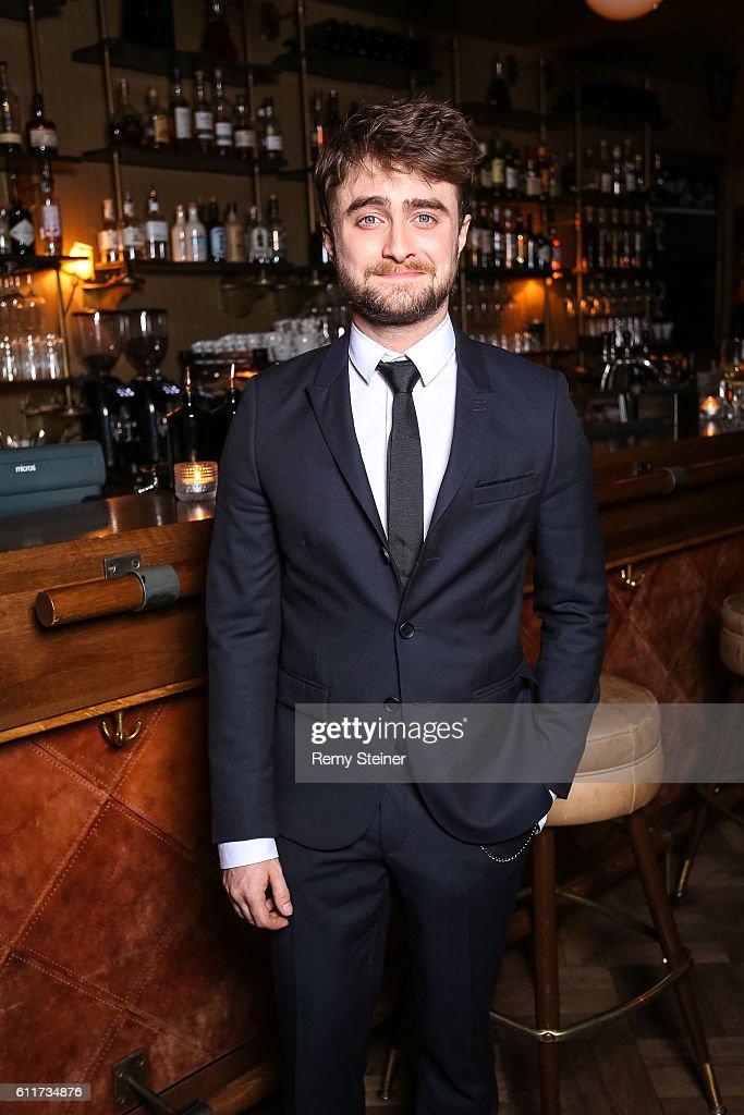 Daniel Radcliffe at the Tommy Hilfiger Dinner in celebration of the 12th Zurich Film Festival on September 30, 2016 in Zurich, Switzerland.