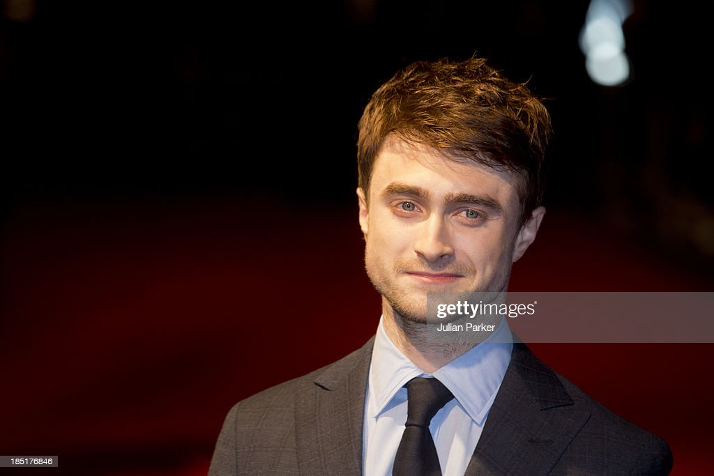 <a gi-track='captionPersonalityLinkClicked' href=/galleries/search?phrase=Daniel+Radcliffe&family=editorial&specificpeople=204144 ng-click='$event.stopPropagation()'>Daniel Radcliffe</a> attends a screening of 'Kill Your Darlings' during the 57th BFI London Film Festival at Odeon West End on October 17, 2013 in London, England.