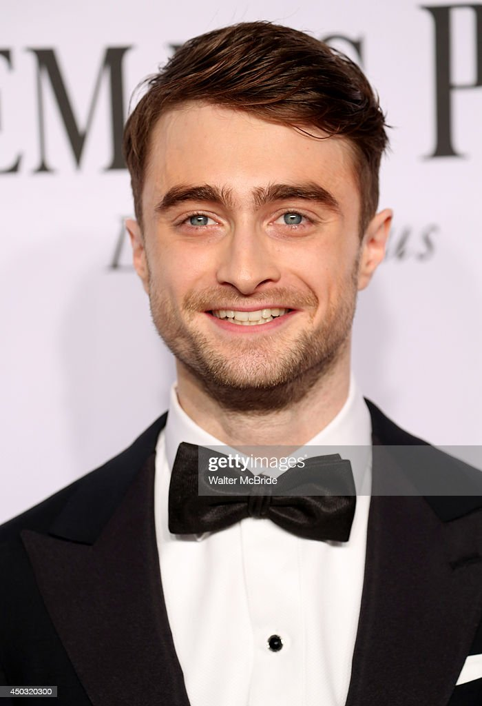 <a gi-track='captionPersonalityLinkClicked' href=/galleries/search?phrase=Daniel+Radcliffe&family=editorial&specificpeople=204144 ng-click='$event.stopPropagation()'>Daniel Radcliffe</a> attends American Theatre Wing's 68th Annual Tony Awards at Radio City Music Hall on June 8, 2014 in New York City.