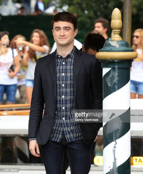 Daniel Radcliffe attends day 5 of the 70th Venice International Film Festival on September 1 2013 in Venice Italy