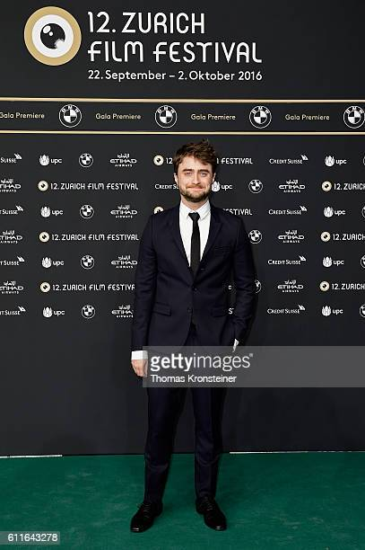 Daniel Radcliffe attends the 'Imperium' premiere during the 12th Zurich Film Festival on September 30 2016 in Zurich Switzerland The Zurich Film...