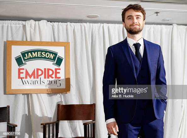 Daniel Radcliffe attends the Jameson Empire Awards 2015 at Grosvenor House on March 29 2015 in London England