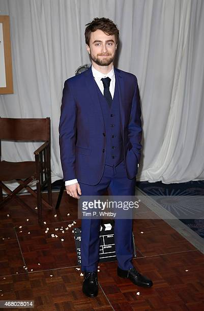 Daniel Radcliffe attends the Jameson Empire Awards 2015 at the Grosvenor House Hotel on March 29 2015 in London England
