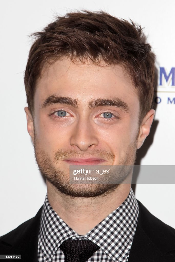 Daniel Radcliffe attends the 'Kill Your Darlings' Los Angeles premiere at Writers Guild Theater on October 3, 2013 in Beverly Hills, California.