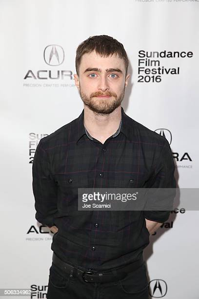Daniel Radcliffe attends the 'Swiss Army Man' Premiere Party at The Acura Studio at Sundance Film Festival 2016 on January 22 2016 in Park City Utah