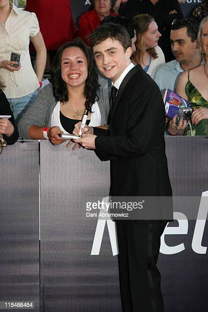 Daniel Radcliffe during L'Oreal Paris 2006 AFI Awards Arrivals at Melbourne Exhibition Centre in Melbourne VIC Australia