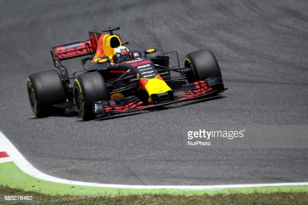 Daniel Ricciardo during the race of GP of Spain in Montmeló at Catalunya's Circuit on May 14 2017
