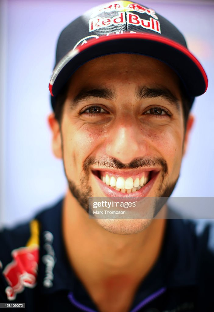 <a gi-track='captionPersonalityLinkClicked' href=/galleries/search?phrase=Daniel+Ricciardo&family=editorial&specificpeople=6547569 ng-click='$event.stopPropagation()'>Daniel Ricciardo</a> of Australia and Infiniti Red Bull Racing poses during previews ahead of the United States Formula One Grand Prix at Circuit of The Americas on October 30, 2014 in Austin, United States.