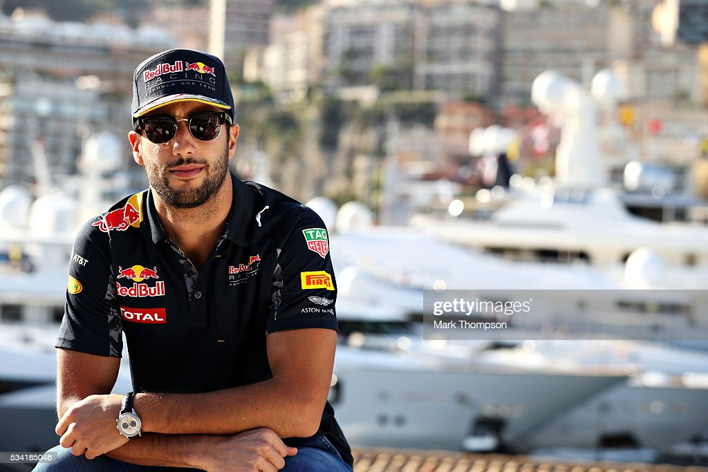 <a gi-track='captionPersonalityLinkClicked' href=/galleries/search?phrase=Daniel+Ricciardo&family=editorial&specificpeople=6547569 ng-click='$event.stopPropagation()'>Daniel Ricciardo</a> of Australia and Red Bull Racing relaxes on the top of the Red Bull Racing Energy Station during previews to the Monaco Formula One Grand Prix at Circuit de Monaco on May 25, 2016 in Monte-Carlo, Monaco.