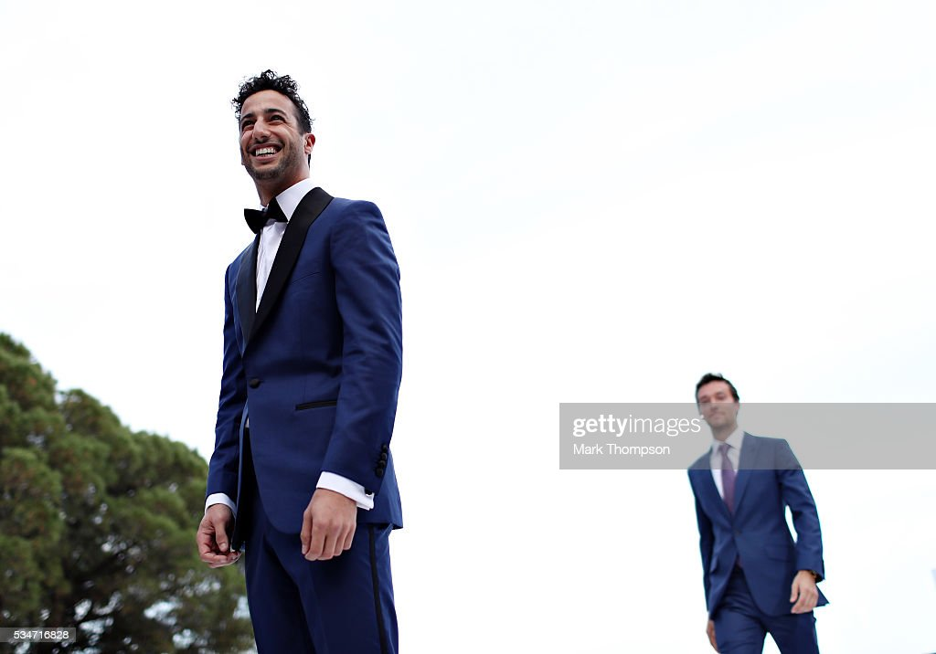 <a gi-track='captionPersonalityLinkClicked' href=/galleries/search?phrase=Daniel+Ricciardo&family=editorial&specificpeople=6547569 ng-click='$event.stopPropagation()'>Daniel Ricciardo</a> of Australia and Red Bull Racing walks the catwalk at the Amber Lounge fashion show during previews to the Monaco Formula One Grand Prix at Circuit de Monaco on May 27, 2016 in Monte-Carlo, Monaco.