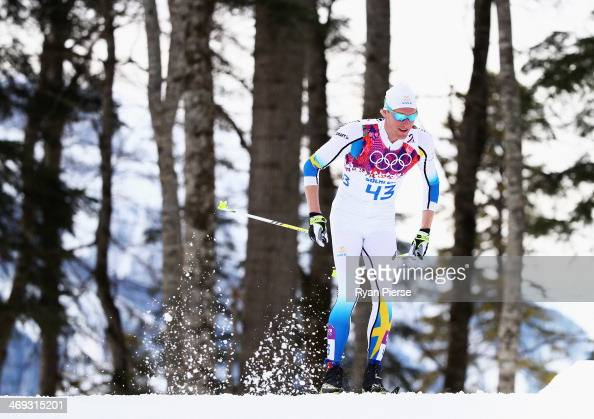 Daniel Richardsson Of Sweden Competes During The Cross Country Mens Picture Johan Olsson Petter Northug