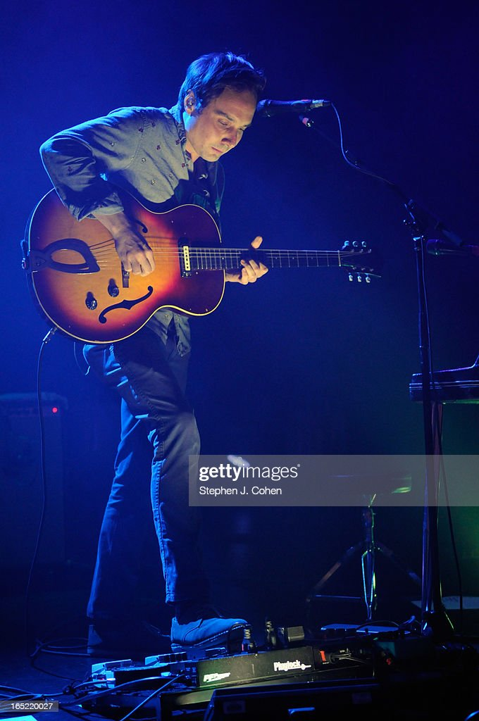 Daniel Rossen of Grizzly Bear performs in concert at The Brown Theatre on April 1, 2013 in Louisville, Kentucky.