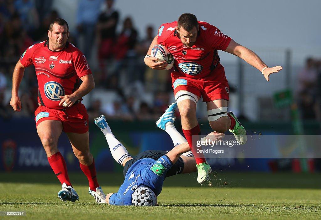 Toulon v Leinster Rugby - Heineken Cup Quarter-Final