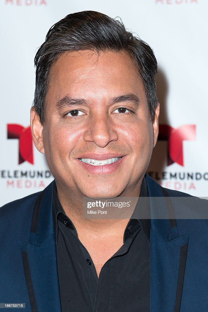 Daniel Sarcos attends the 2013 Telemundo Upfront at Frederick P. Rose Hall, Jazz at Lincoln Center on May 14, 2013 in New York City.