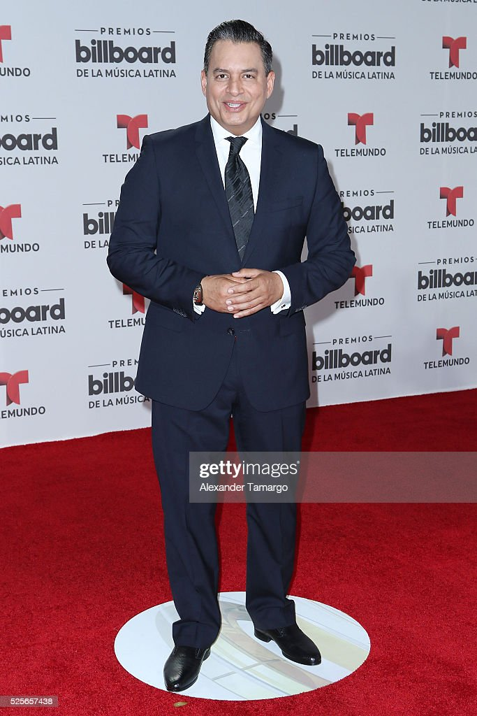 Daniel Sarcos attends the Billboard Latin Music Awards at Bank United Center on April 28, 2016 in Miami, Florida.