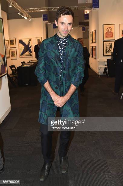 Daniel Schaffer attends the IFPDA Fine Art Print Fair Opening Preview at The Jacob K Javits Convention Center on October 25 2017 in New York City