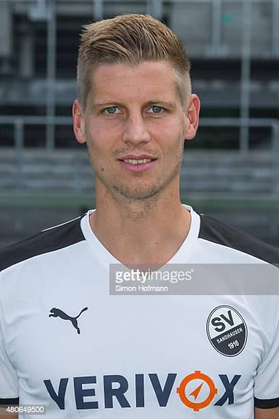 Daniel Schulz poses during SV Sandhausen Team Presentation on June 26 2015 in Sandhausen Germany