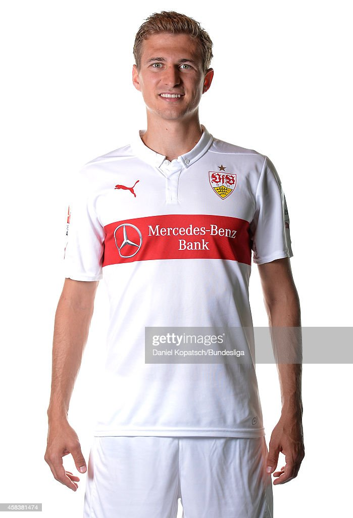<a gi-track='captionPersonalityLinkClicked' href=/galleries/search?phrase=Daniel+Schwaab&family=editorial&specificpeople=686549 ng-click='$event.stopPropagation()'>Daniel Schwaab</a> poses during the VfB Stuttgart Media Day on July 24, 2014 in Stuttgart, Germany.