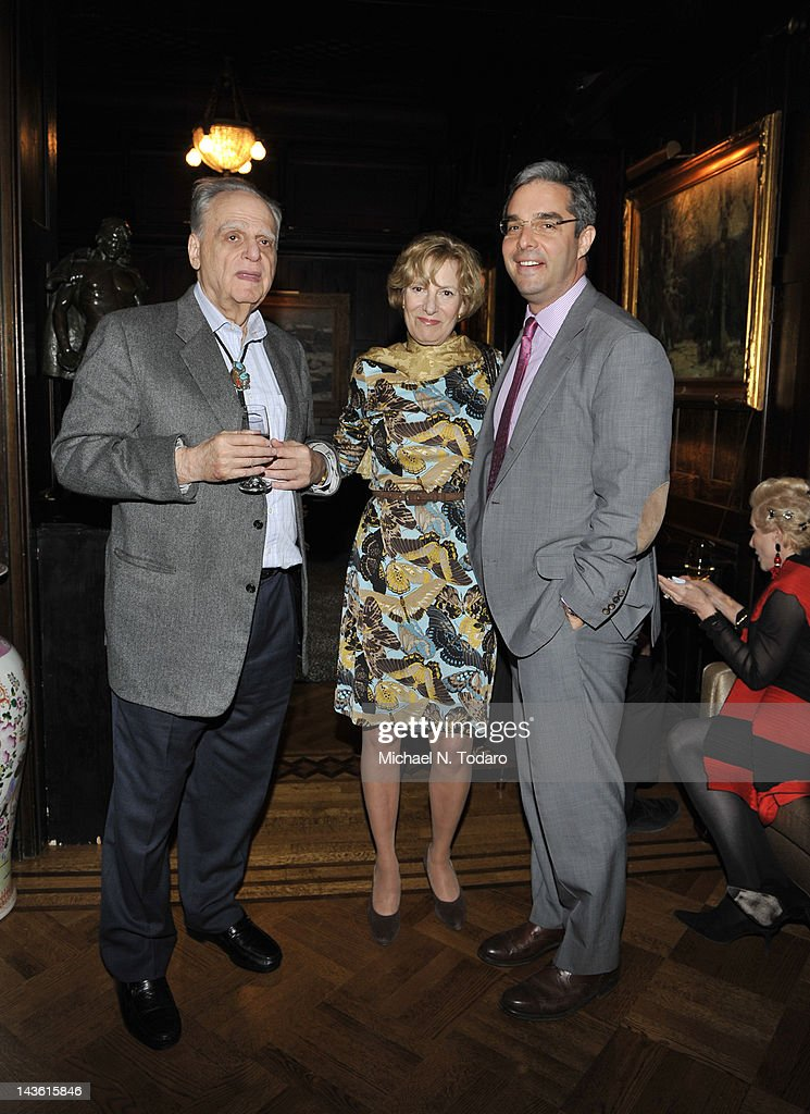 Daniel Schwartz (R) attends the Norman Mailer Center Commendation Awards at The National Arts Club on April 30, 2012 in New York City.