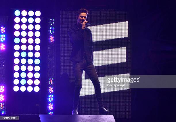 Daniel Seavey of Why Don't We performs onstage at the Z100's Jingle Ball 2017 on December 8 2017 in New York City