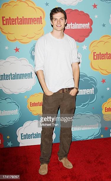 Daniel Sharman arrives at the Entertainment Weekly's Annual ComicCon celebration held at Float at Hard Rock Hotel San Diego on July 20 2013 in San...