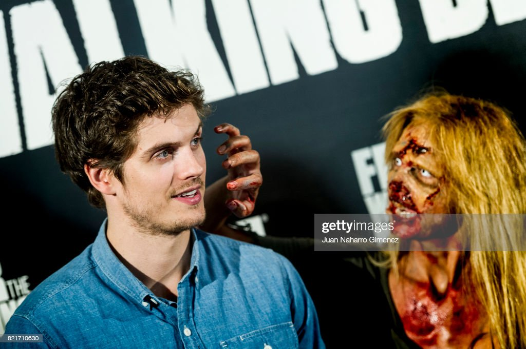 Daniel Sharman attends 'Fear The Walking Dead' photocall at Callao Cinema on July 24, 2017 in Madrid, Spain.