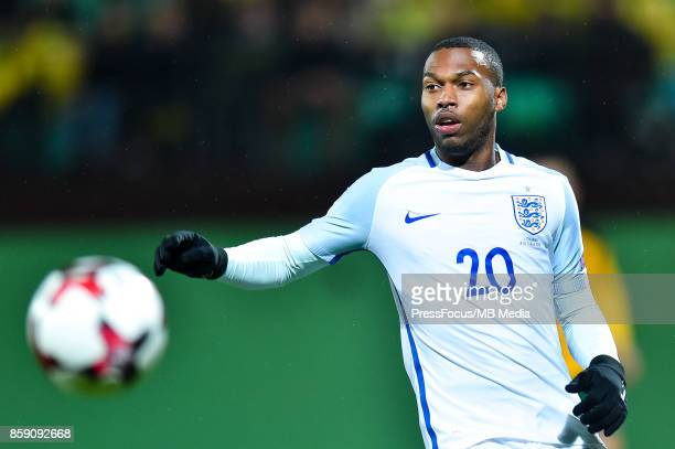 Daniel Sturridge of England during the FIFA 2018 World Cup Qualifier between Lithuania and England on October 8 2017 in Vilnius Lithuania