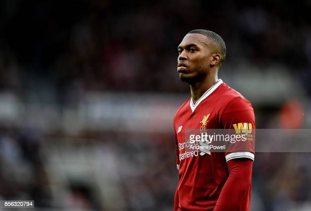 Daniel Sturridge of Liverpool during the Premier League match between Newcastle United and Liverpool at St James Park on October 1 2017 in Newcastle...