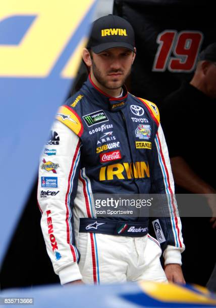 Daniel Suarez during practice for the Bass Pro Shop NRA 500 at Bristol Motor Speedway on August 18 2017 Photo by Jeff Robinson/Icon Sportswire via...