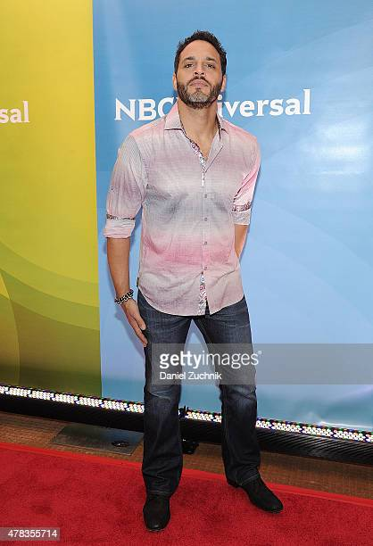 Daniel Sunjata attends the 2015 NBC New York Summer Press Day at Four Seasons Hotel New York on June 24 2015 in New York City