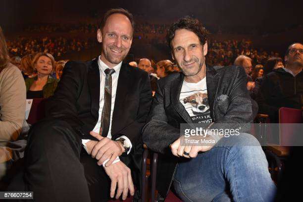 Daniel Termann and FalkWilly Wild attend the 50 years Hey Music event 'Thank you Juergen Juergens' on November 19 2017 in Berlin Germany