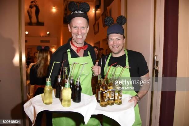 Daniel Termann and Martin Stange attend the Kinderschutzengel SommernachtstraumGala 2017 at Queens 45 bc Event und Tagungslocation GmbH on June 24...