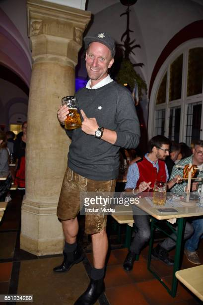Daniel Termann attends the Grunewaldwiesn 2017 on September 21 2017 in Berlin Germany
