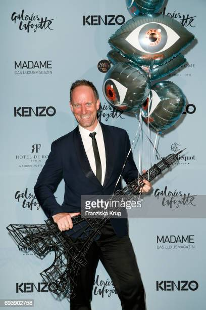 Daniel Termann attends the 'Kenzo World Launch In Berlin' at Galerie Lafayette on June 8 2017 in Berlin Germany