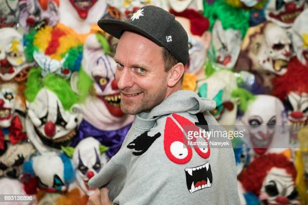 Daniel Termann attends the 'mad love' Australian contemporary artists group exhibition opening at Arndt Art Agency on June 6 2017 in Berlin Germany