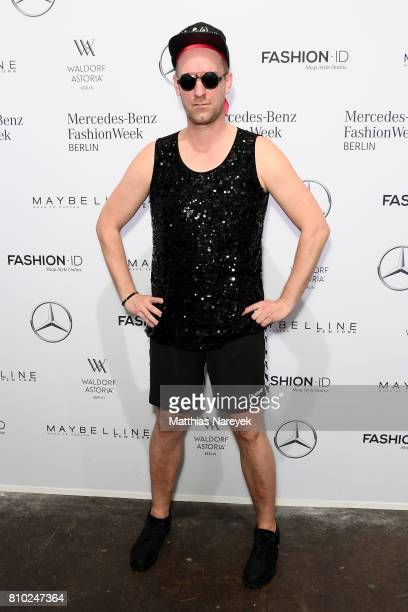 Daniel Termann attends the Odeur show during the MercedesBenz Fashion Week Berlin Spring/Summer 2018 at Kaufhaus Jandorf on July 7 2017 in Berlin...