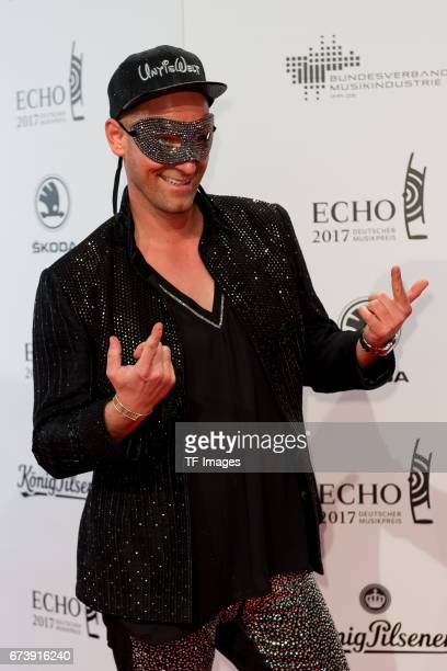 Daniel Termann on the red carpet during the ECHO German Music Award in Berlin Germany on April 06 2017