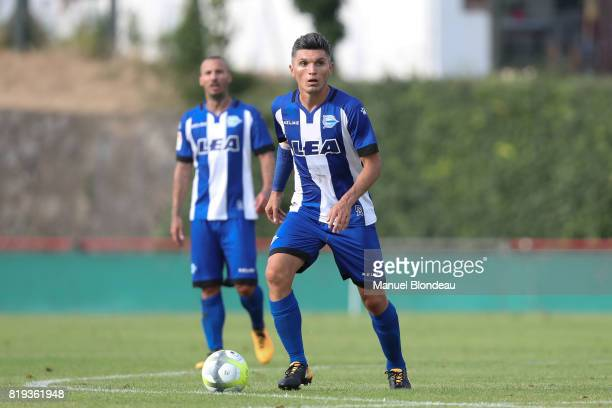 Daniel Torres of Alaves during the friendly match between Toulouse FC and Deportivo Alaves on July 19 2017 in Saint Jean de Luz France