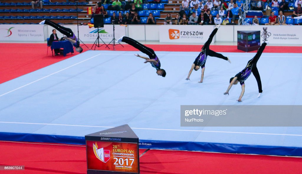28th European Championships in Acrobatic Gymnastics