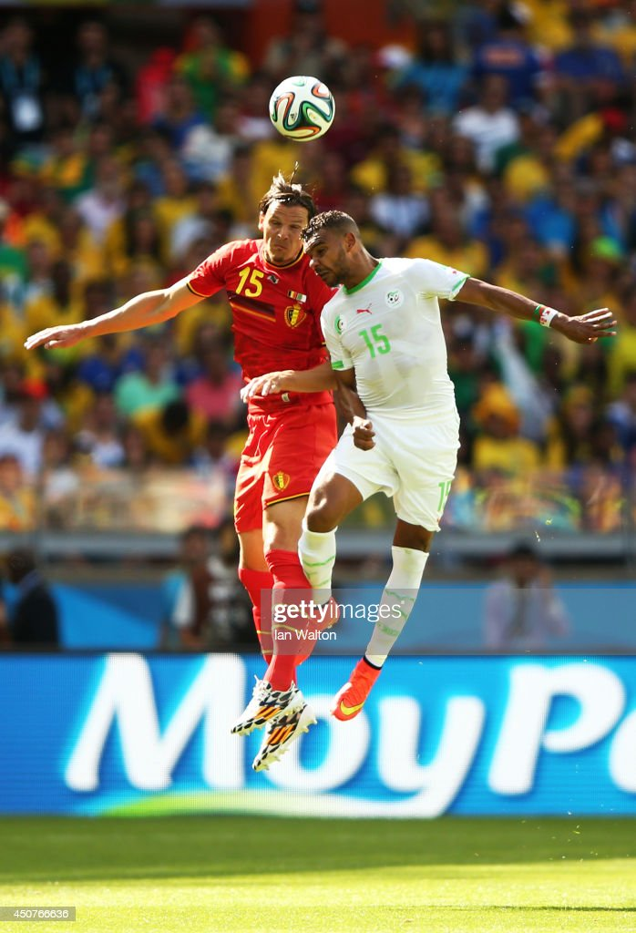Belgium v Algeria: Group H - 2014 FIFA World Cup Brazil