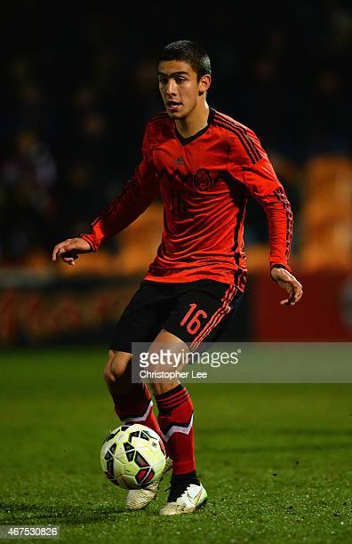 Daniel Vazquez Sosa of Mexico during the U20 International Friendly match between England and Mexico at The Hive on March 25 2015 in Barnet England