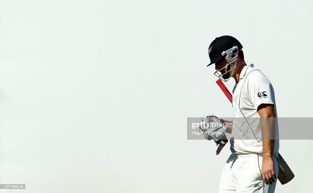 New Zealand v Zimbabwe - First Test: Day 1