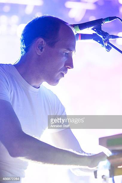 Daniel Victor Snaith of Caribou performs on stage at KOKO on October 8 2014 in London United Kingdom