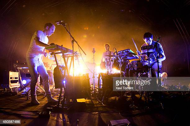 Daniel Victor Snaith of Caribou performs on stage during the second day of Sonar Festival on June 13 2014 in Barcelona Spain